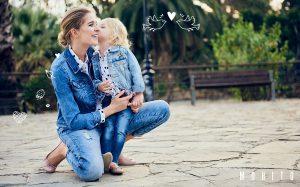 Takie same ubrania dla mamy i córki, czyli trend mini me (fot. Mohito)