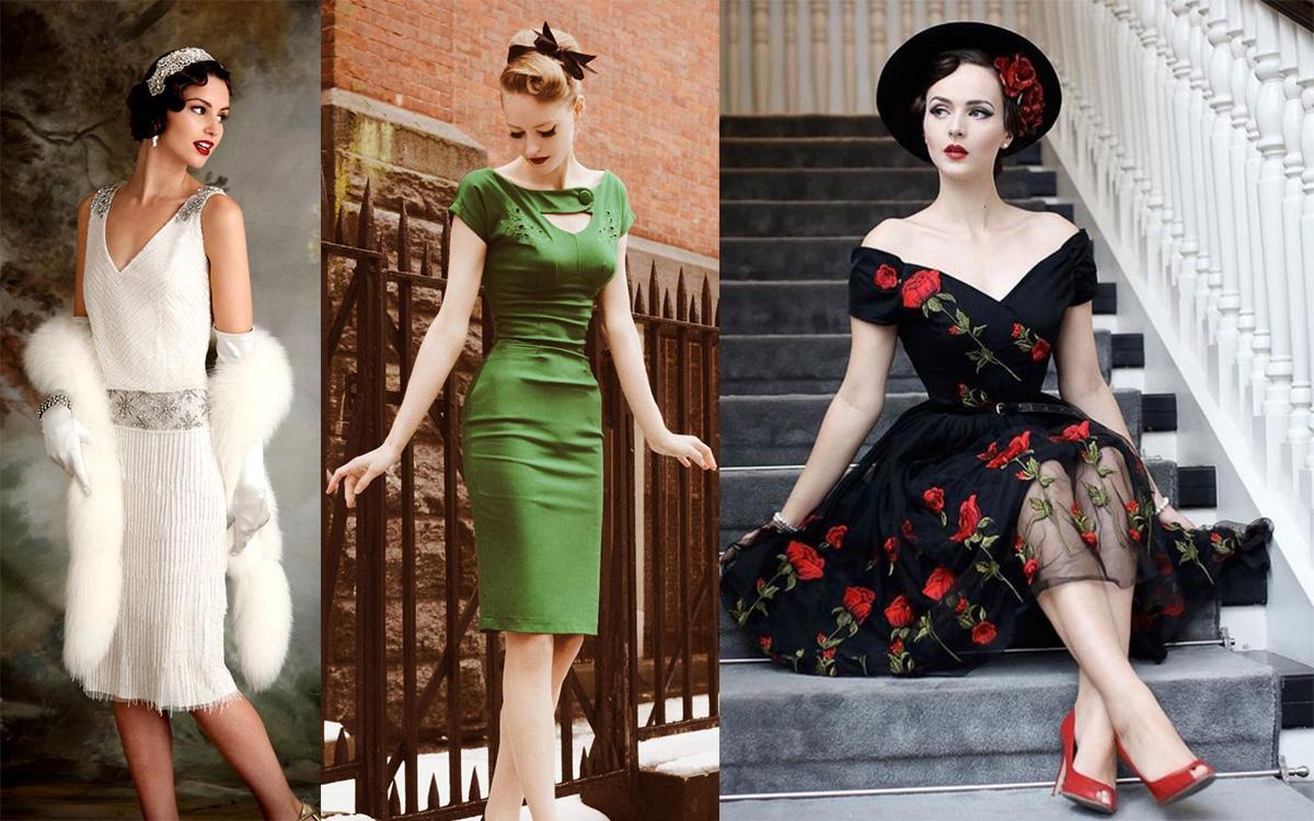 Sukienki retro (fot. pinterest.com)