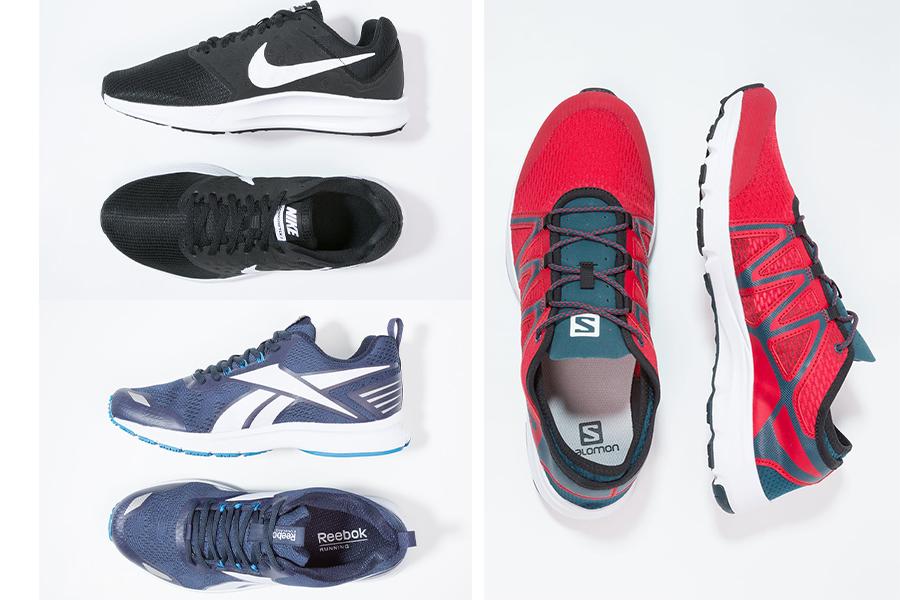 Buty męskie do biegania znanych marek: Nike, Reebok, Salomon (fot. zalando.pl)