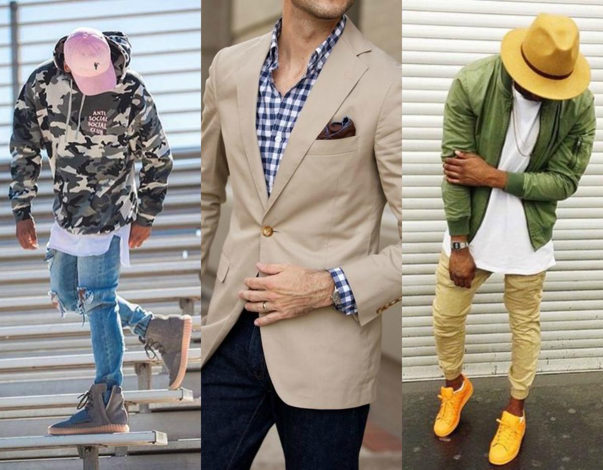 moda wiosna lato 2017 męska