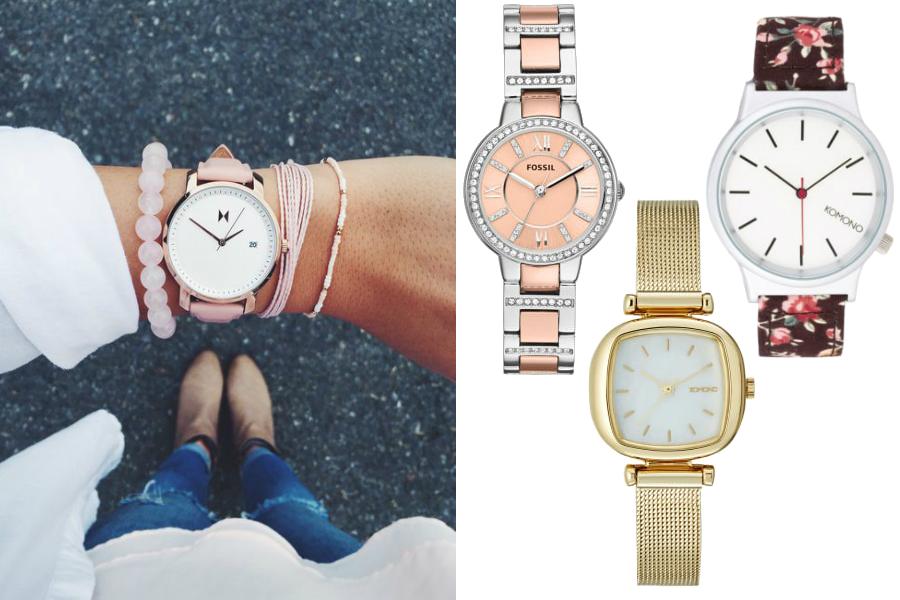 na której ręce nosi się zegarek damskie