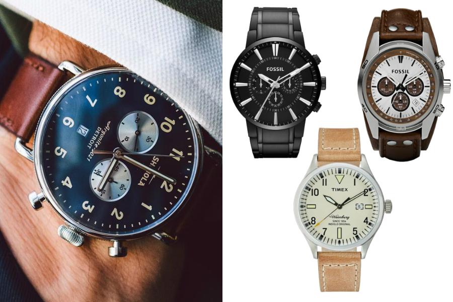 na której ręce nosi się zegarek męskie