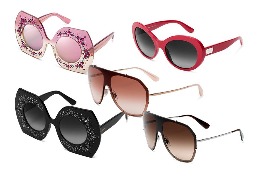Modne okulary przeciwsłoneczne z kolekcji Dolce&Gabbana (materiały prasowe)