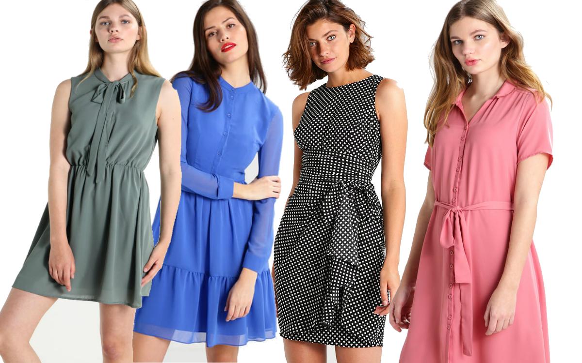 Modne sukienki do pracy