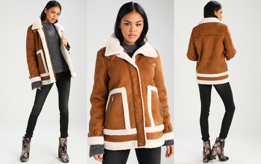 dłuższe kurtki zimowe damskie vero moda