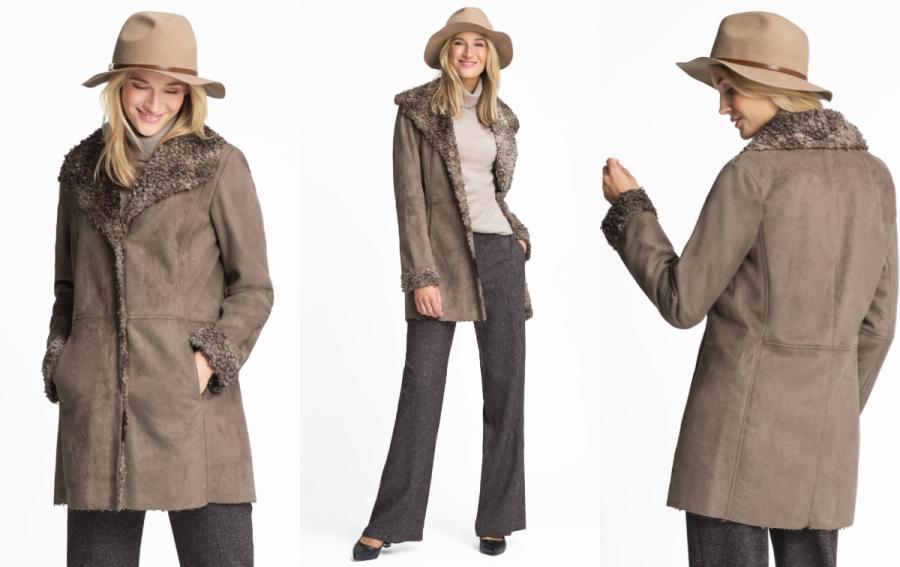 modny płaszcz c&a