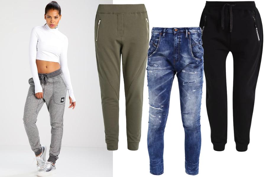 spodnie baggy modele