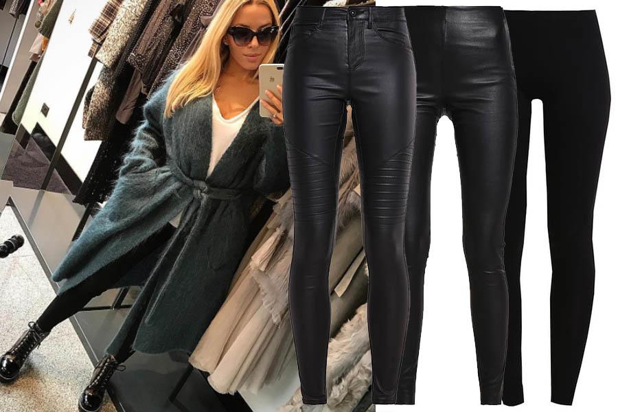 Spodnie legginsy nie tylko na siłownię (kolaż redakcja, materiały partnera, fot. instagram.com/chodakowskaewa)