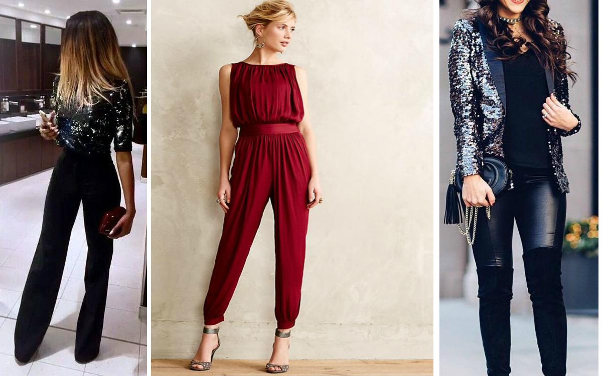 Co zamiast sukienki na sylwestra? Kombinezon albo spodnie!