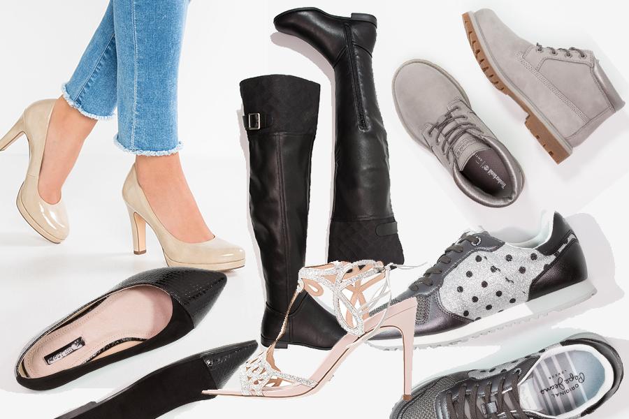 Jakie buty warto mieć w szafie? Oto nasze typy - przykładowe modele dostępne na Zalando (kolaż redakcja)