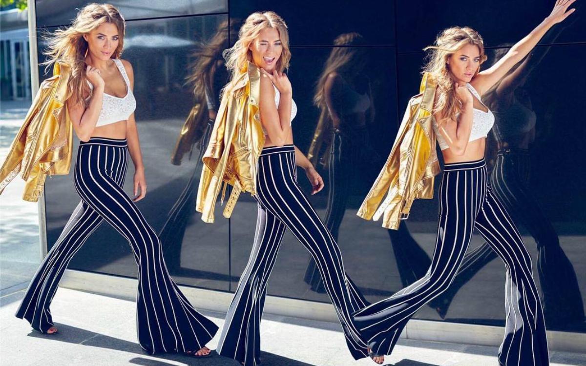 Marcelina Zawadzka wie, jak wydłużyć nogi i podkreślić talie! Też możesz mieć te spodnie!