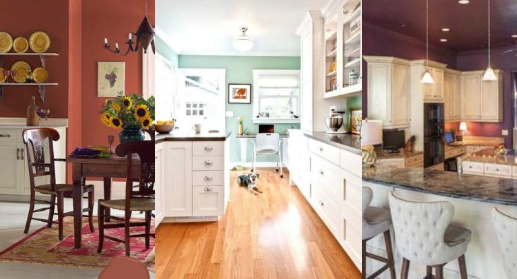 modne kolory ścian do kuchni