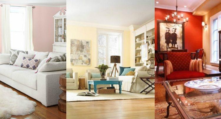 modne kolory ścian do salonu
