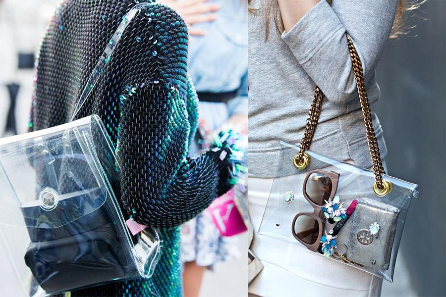 Transparentne torebki hit sezonu | Temat Moda