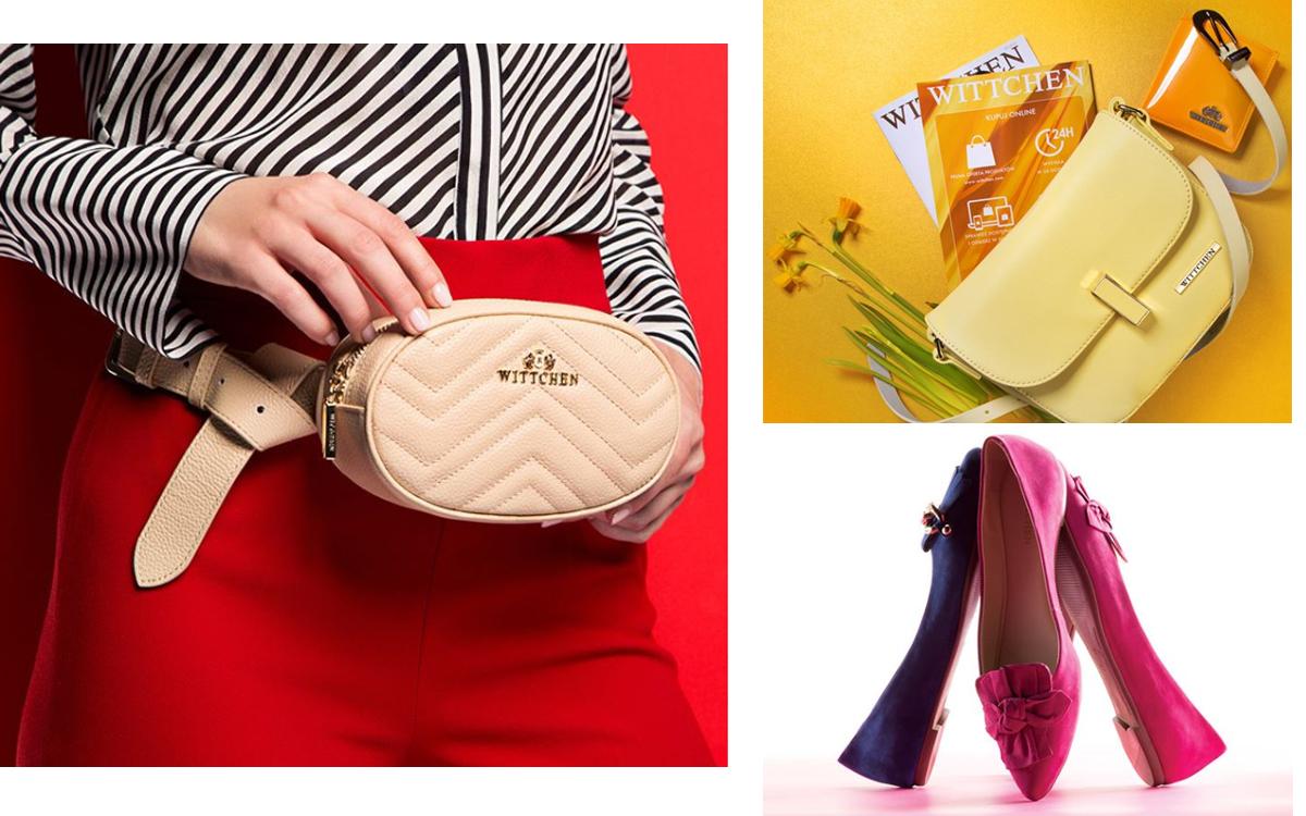 Eleganckie torebki i buty od WITTCHEN- sprawdź najnowszą kolekcję