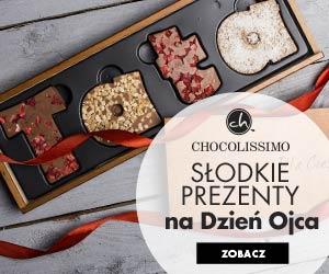 Słodkie prezenty na Dzień Ojca od Chocolissimo