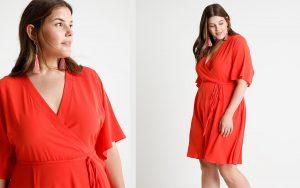 Sukienka kopertowa - modna propozycja na każdą okazję (fot. zalando)