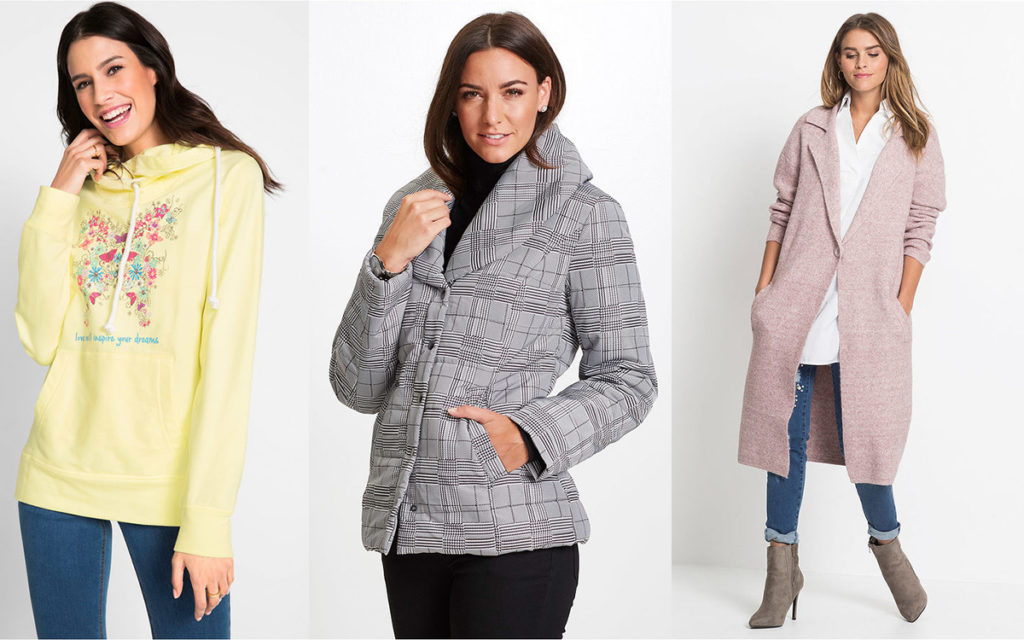 Bonprix kurtki i płaszcze oraz bluzy damskie (fot. bonprix)