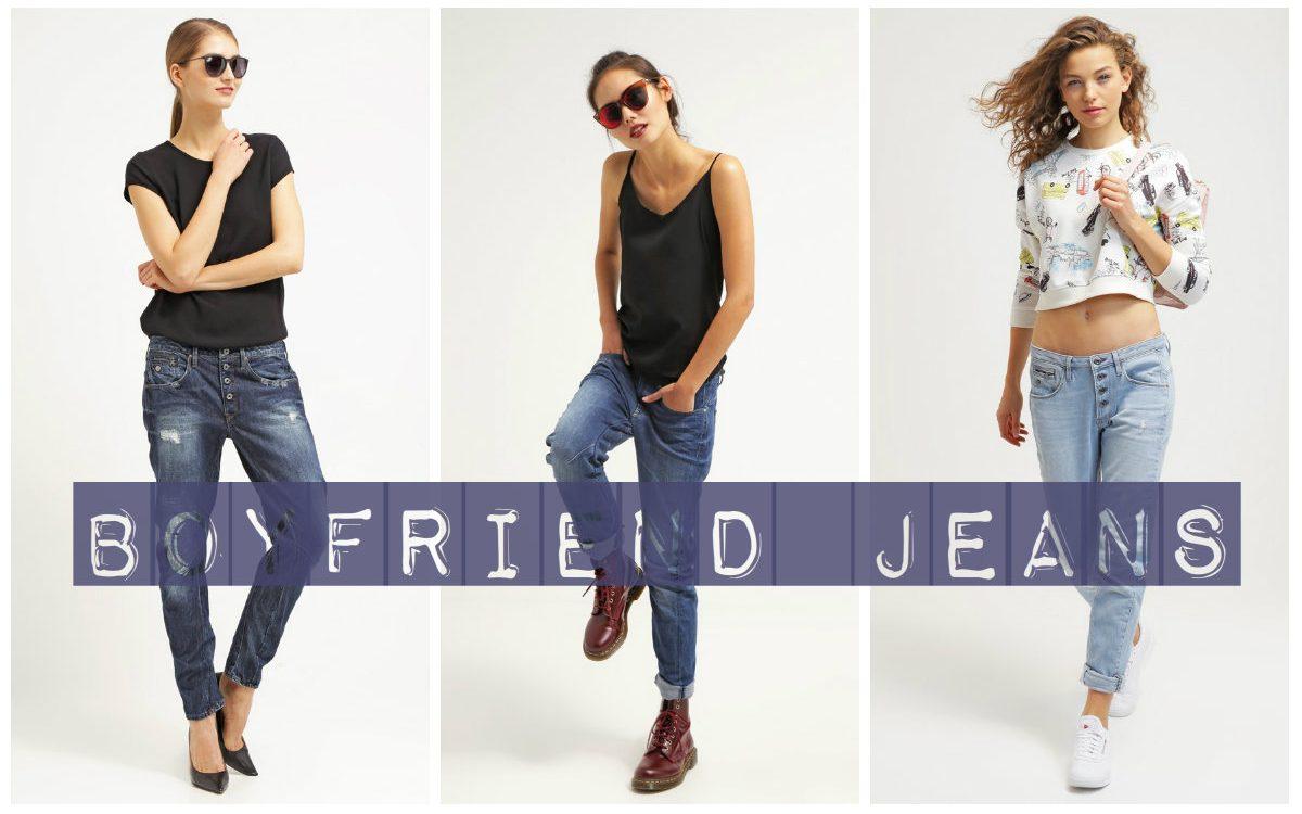 Boyfriend jeans: z czym je nosić?