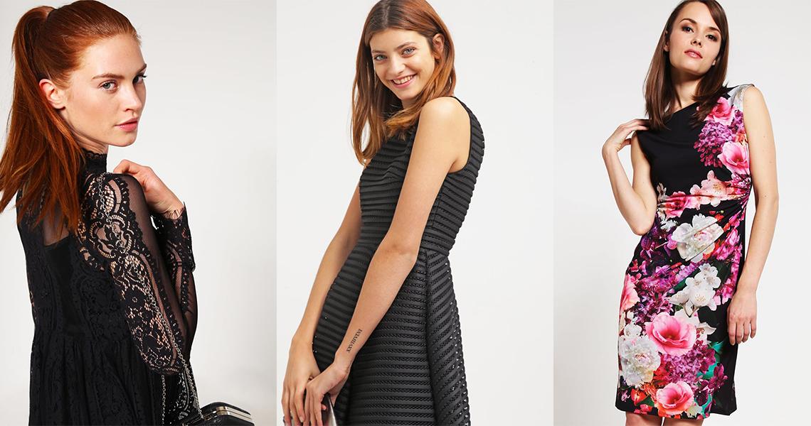 Czarne sukienki na lato (fot. zalando.pl)