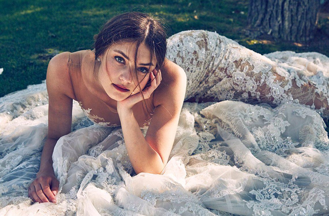 Koronkowe suknie ślubne /fot. Pronovias