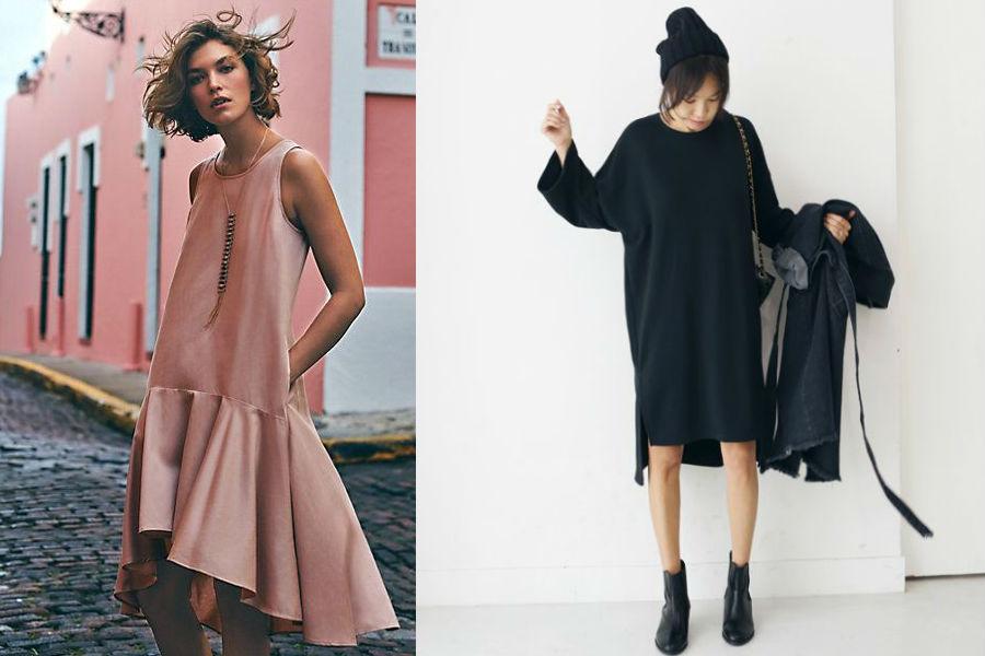 modne dzianinowe sukienki