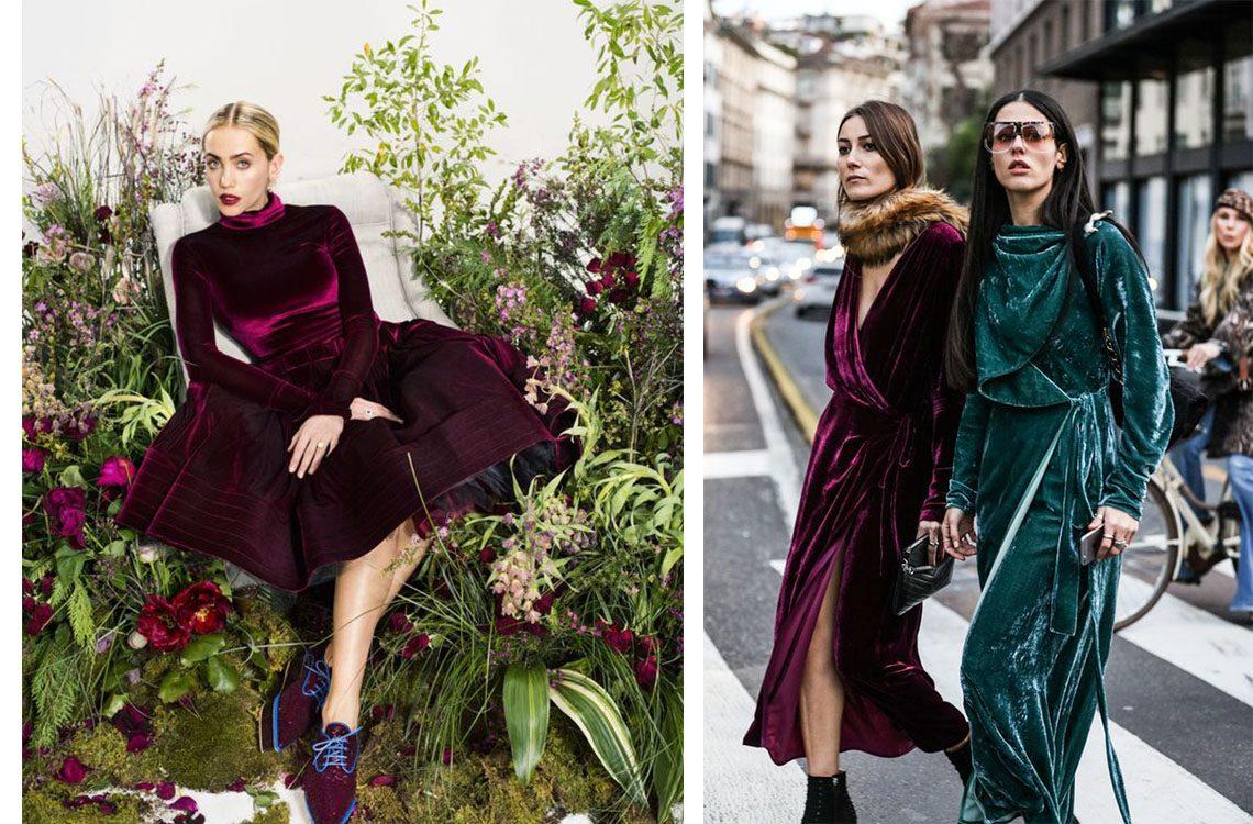 Aksamit – hit sezonu! Zobacz modne propozycje, jak go nosić