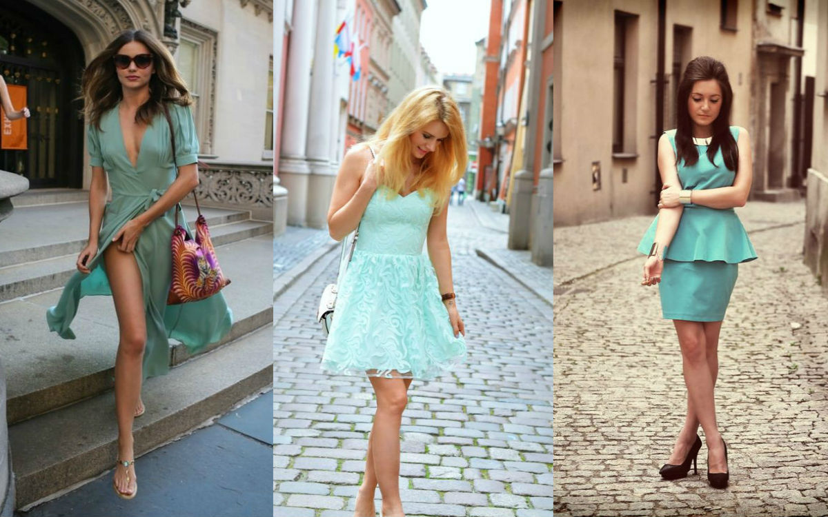 Dodatki do miętowej sukienki – jakie wybrać?