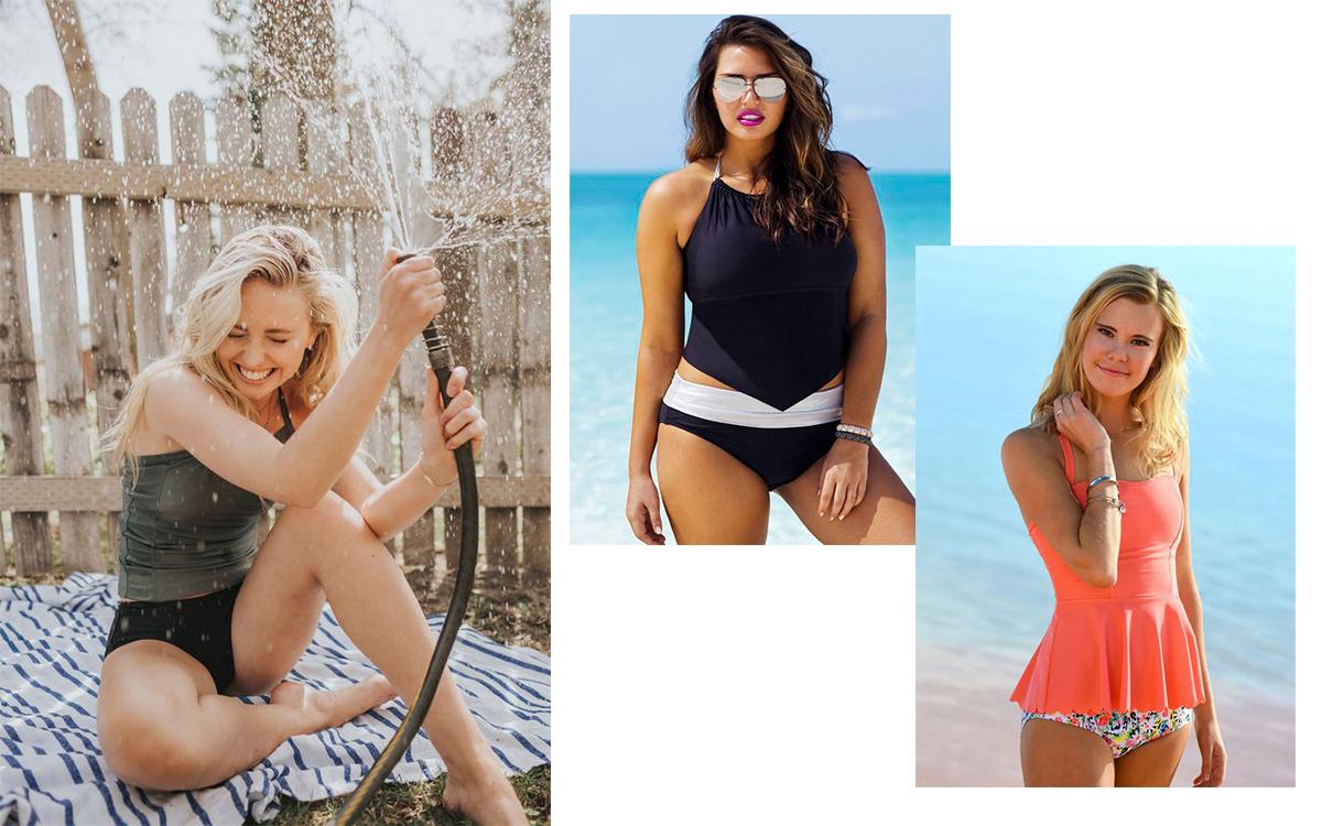 27be464aa8caf1 Stroje kąpielowe tankini - modny kompromis pomiędzy bikini a ...