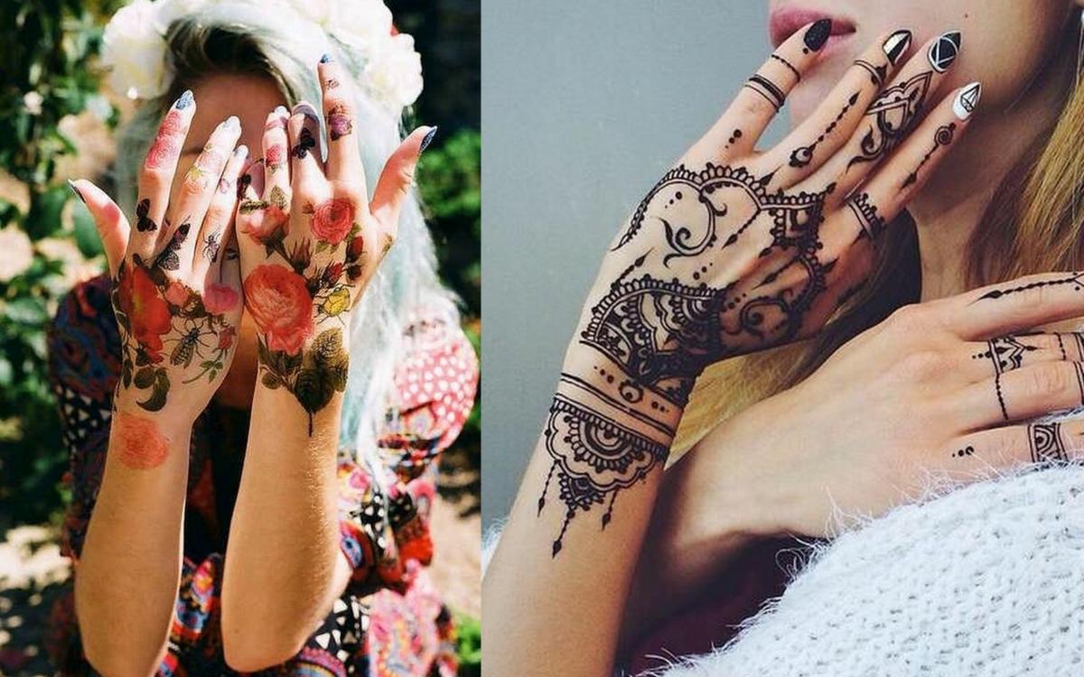 tatuaże na rękę