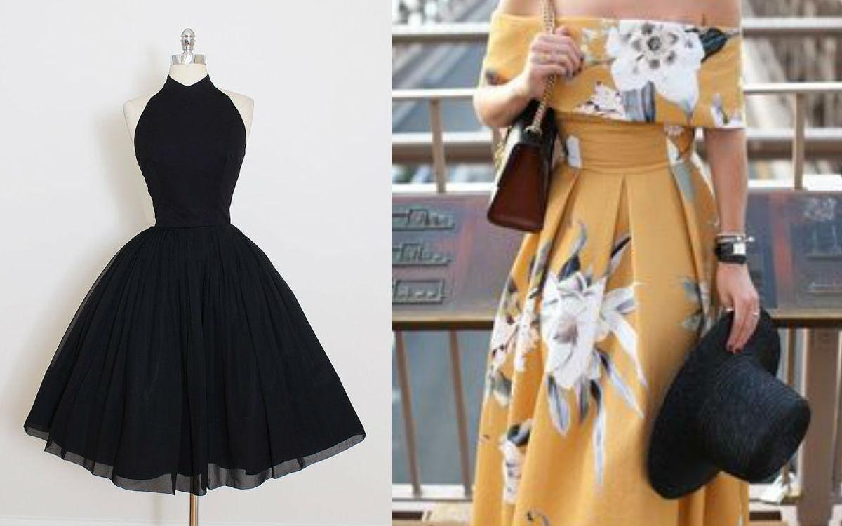 Sukienka dla gruszki – stylizacje na różne okazje