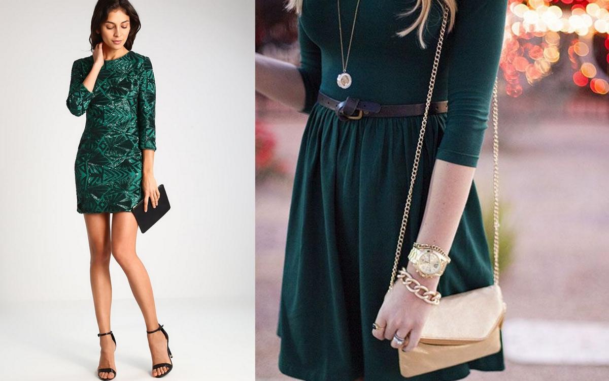 Sukienka butelkowa zieleń – z czym ją nosić?