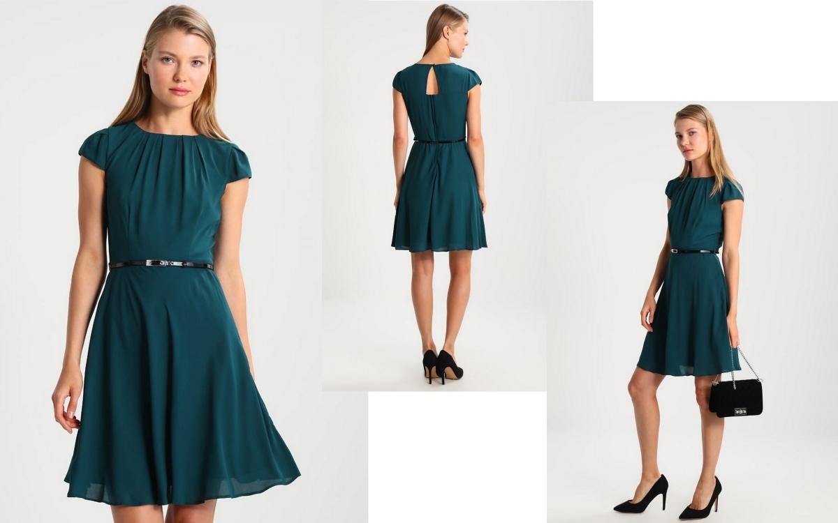 e929b43f35 Szmaragdowa sukienka - najmodniejszy wybór sezonu! - modatu.pl