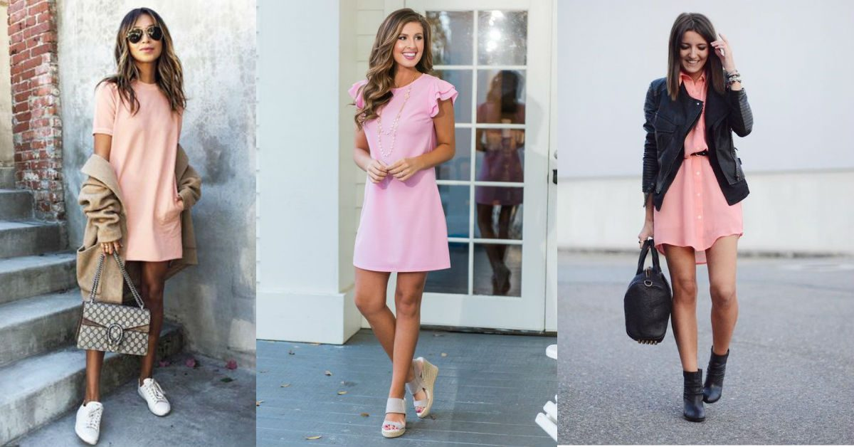 Różowa sukienka hitem już od kilku sezonów!