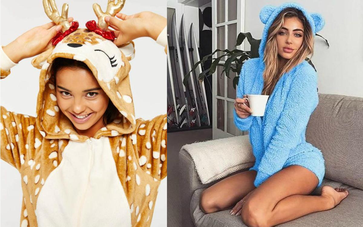 Piżamy kombinezony – wygoda i poczucie humoru w sypialni!